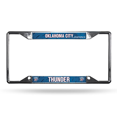 NBA Oklahoma City Thunder Chrome Plate Frame