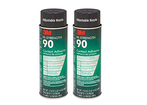 3M Spray Adhesive, 17.6 Ounce (2 Cans) by 3M