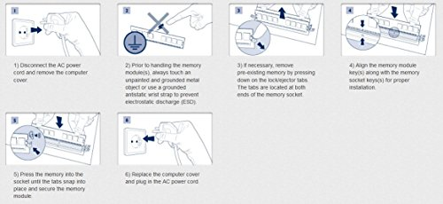 Kingston HX318C10FBK2/8 2-Pack 4GB PC3-14900 DDR3 DIMM Unbuffered Non-ECC Desktop Memory Kit Black