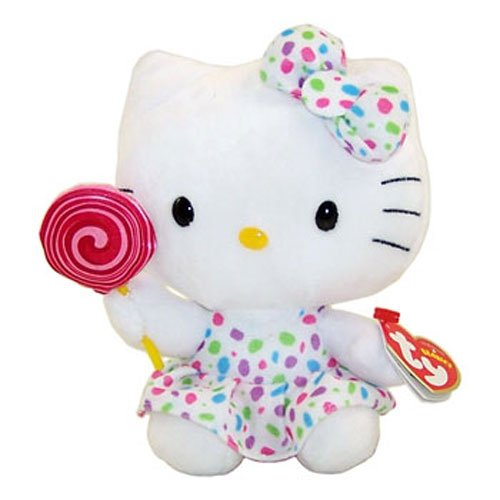 Ty Beanie Babies - Hello Kitty Lollipop - Small 6