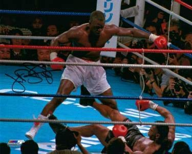 Buster Douglas Signed Photo 8x10 Autographed Boxing Photos