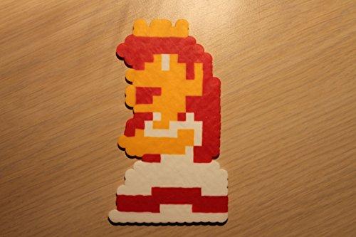 Princess Toadstool Pixel Art Sprite from Super Mario Bros (Toadstool From Mario)