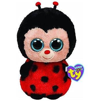 Ty Beanie Boos Bugsy - Ladybug (Solid Eye Color) 6 inch