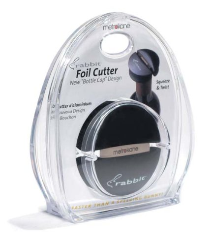 Rabbit Wine Bottle Foil Cutter (Black)