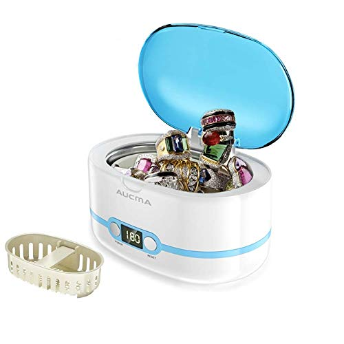 AUCMA-Ultrasonic Cleaner with Digital Timer for Jewellery