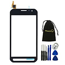 Mencia Touch Digitizer Screen Replacement For Samsung Galaxy Xcover 3 G388F G388 With Opening Tools(Black)