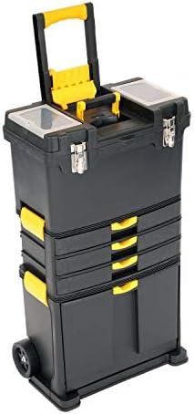 Oypla - Caja de herramientas con ruedas, carrito de almacenamiento para garaje: Amazon.es: Juguetes y juegos