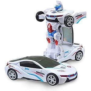 Premium Product Deform Robot Car...
