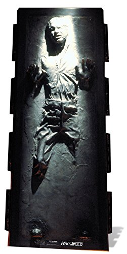Star Cutouts Official Star Wars Han Solo Carbonite The Empire Strikes Back Lifesize Cardboard Cutout -