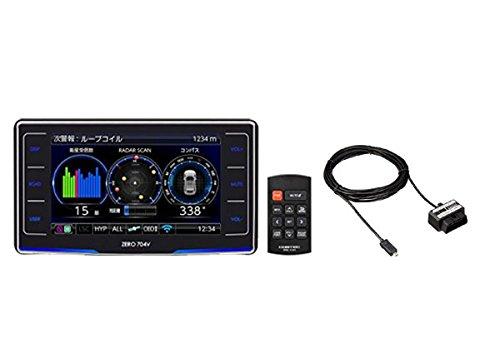コムテック3.2インチ無線LAN自動更新対応GPSレーダー探知機ZERO704V+OBDIIアダプターOBD2-R3セット B0795GB6SQ
