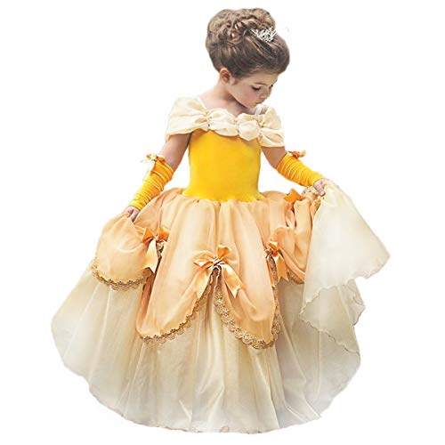 Holiday Belle Costumes - Princess Belle Costume Halloween Party Fancy