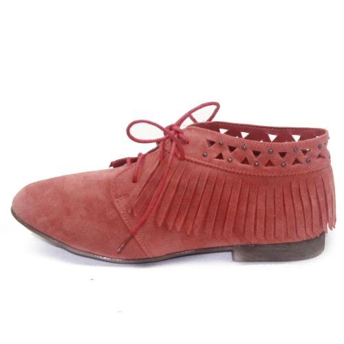 Shoes Fashion Suckle Laced Honey Up Sandy Breckelle's 24 Women's Oxford wFY0qaxv
