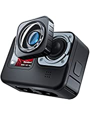 TELESIN Max Lens Mod for Hero 9 Black with 155° Wide Angle Anti-Skid Lens, Accessories for Hero 9