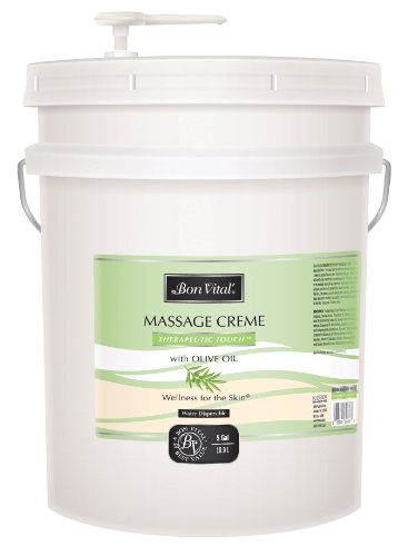 Bon Vital Therapeutic Touch Massage Creme, 5 Gallon Pail by Bon Vital