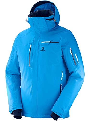 - Salomon Men's Brilliant JACKET , Hawaiian Surf, Large