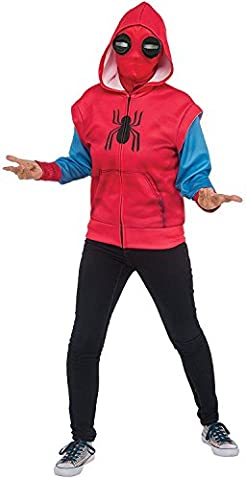 Spider-Man Homecoming Child's Homemade Costume Hoodie - Authentic Spider Man Costume Accessories