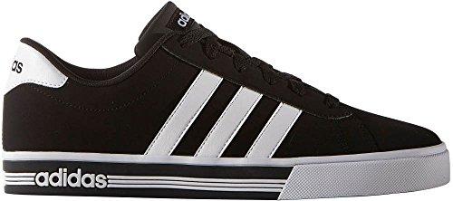 pretty nice 34866 05966 Galleon - Adidas Mens Daily Team Fashion Sneakers, BlackWhiteBlack, (9 M  US)