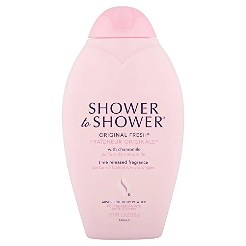 SHOWER TO SHOWER Body Powder Original Fresh 13 oz Pack of 4