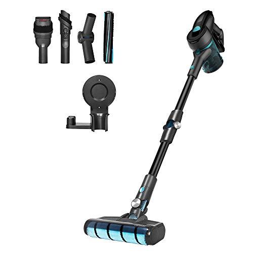 Cecotec Aspirador Escoba Sin Cable Conga Rockstar 700 X-Treme Ergoflex, Sin Bolsa, 430W de potencia, 24 KPA, 3 en 1…