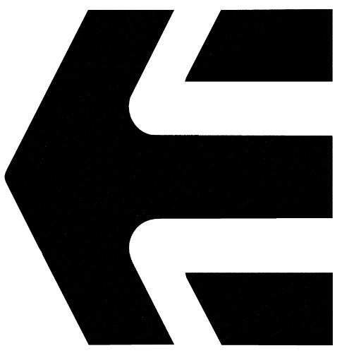 Etnies Shoes Decal Sticker Vinyl Etnies White Sticker 8.5'' Wide By 8.5 Tall