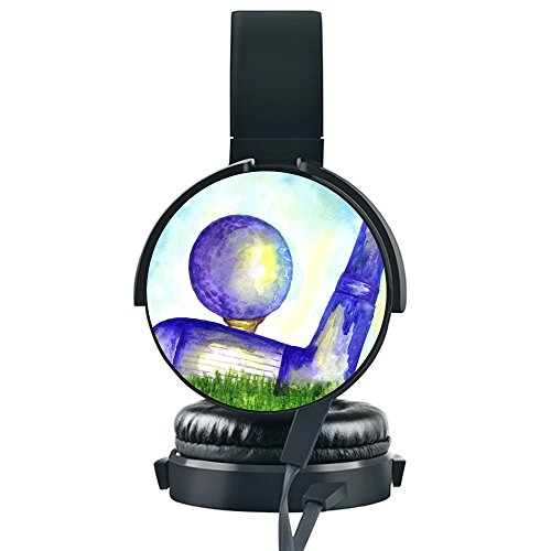 Golf Ball Painting Wired Headset,INmark Fordable H...