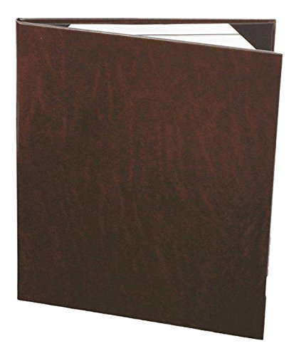 Menu Covers Real Bonded Leather