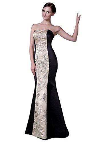 Meerjungfrau formales BRIDE Abendkleid langes Schwarz Neu Schwarz GEORGE TqZwatxEq
