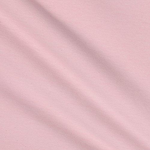 Robert Kaufman ET-542 Laguna Stretch Cotton Jersey Knit Fabric by The Yard, Pink -