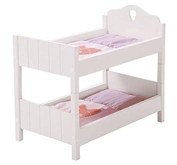 roba Puppenetagenbett Prinzessin Sophie Etagenbett Bett Puppen Holz