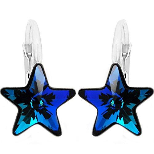 Swarovski Star Earrings (Royal Crystals