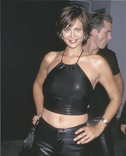 Catherine Bell 8x10 Photo weariing Black Halter Top #1