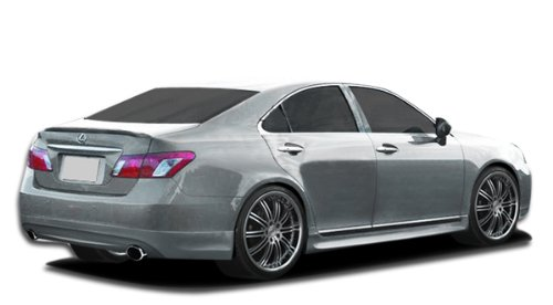 (Couture ED-NVY-132 Urethane VIP Rear Lip Under Spoiler Air Dam - 1 Piece Body Kit - Compatible For Lexus ES 2007-2012 )
