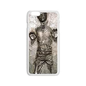 Happy Han Solo Carbonite Star Wars Rubber Sleeve Brand New And Custom Hard Case Cover Protector For Iphone 6