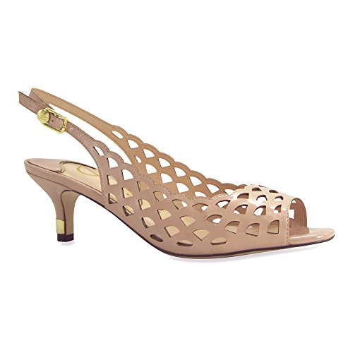 J.renee Dames Peppi Jurk Pump Nude