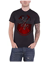 Pink Floyd T Shirt The Wall Oversized Hammers logo new Official Mens Black
