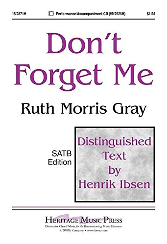 Don't Forget Me PDF