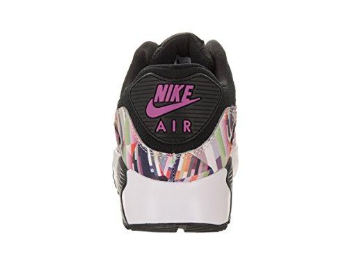Nike Mädchen 833497-001 Turnschuhe Schwarz