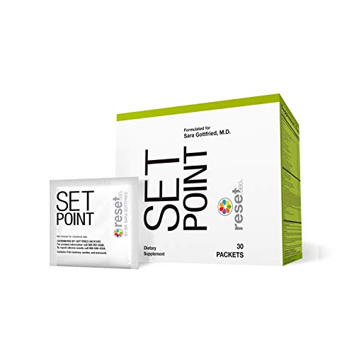 - Reset360 Set Point Metabolism-Boosting, Weight Loss Nutritional Supplement, 1 Box with 30 Individual Packets