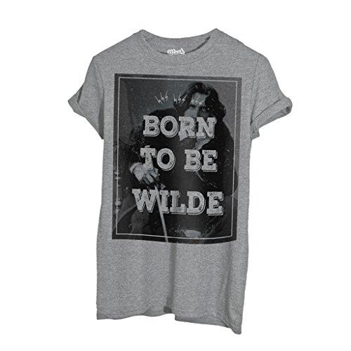 T-Shirt Born To Be Oscar Wilde - Berühmt by Mush Dress Your Style