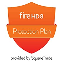 3-Year Protection Plan plus Accident Protection for Fire HD 8 (6th Generation, 2016 release) (delivered via email)