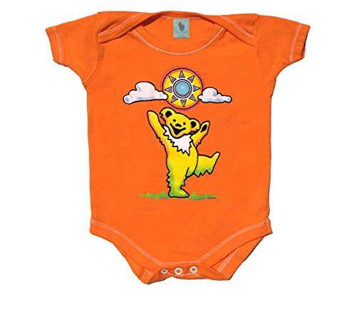 Blue Mountain Dyes LLC Grateful Dead - Sunny Bear Infant One Piece (Months Boys One Piece)