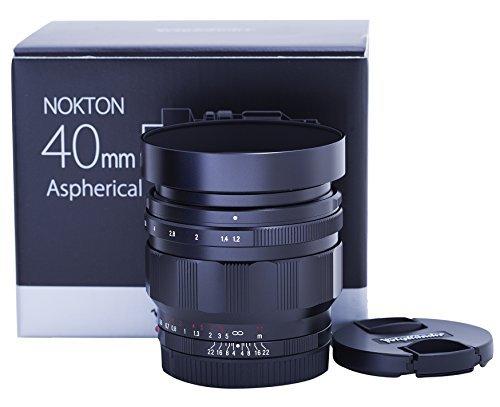 Voigtlander Nokton 40mm f/1.2 Aspherical Lens - Sony E ()