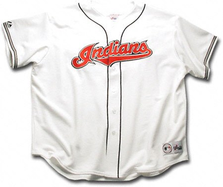 2dbe1a1f3 Cleveland Indians XX-Large Replica Home MLB Jersey  Amazon.ca  Sports    Outdoors