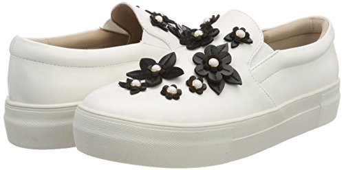 Bianco white Buffalo Infilare Pu Nappa Donna 10 17t01 Sneaker qqO084W