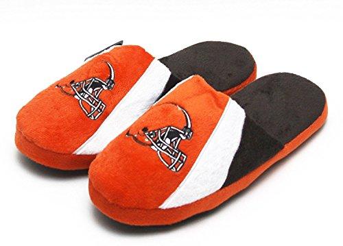 NFL 2014 Men's Swoop Logo Slide Slippers (Cleveland Browns, XL) -  Forever Collectibles