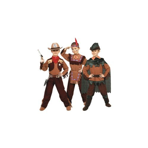 Cowboy, Indian, Peter Pan Child - Boys Small
