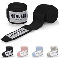 Moncada Fighting 4 Metros Vendas de Boxeo Mujer y Hombre - Cinta de Boxeo elasticas para MMA, Muay Thai, Kick Boxing…