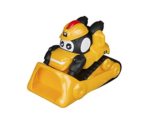 Toy State Pre-School Lights and Sounds Caterpillar CAT Roll and Go Bulldozer (Motorized Bulldozer)