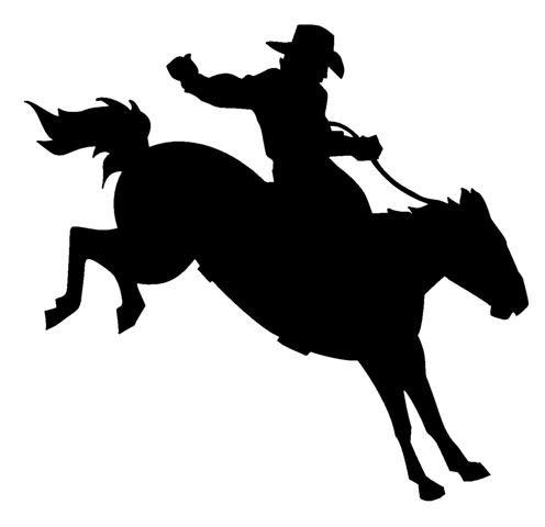 (Rodeo Cowboy PREMIUM Decal 5