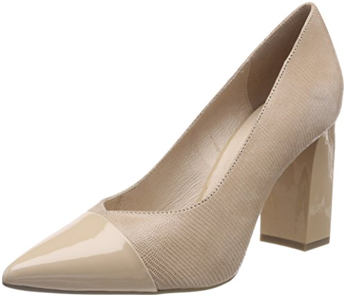 Caprice Footwear 22405, Women's Pumps Beige (Beige Rep Comb 411)